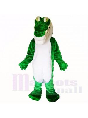 vert Crocodile Poids léger Costumes De Mascotte Adulte
