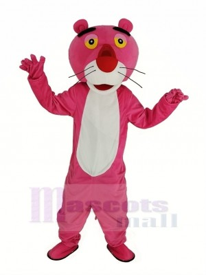 Rose Panthère Mascotte Costume