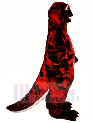 rouge et Noir Sortie Salamandre Mascotte Costume