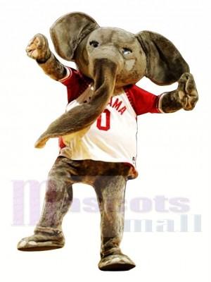 Éléphant sportif Costume de mascotte