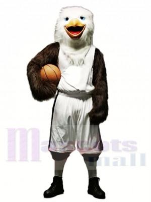 Basketball Aigle avec Costume Mascotte Les costumes Animal
