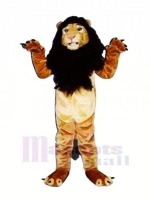 Fort Roi Lion Mascotte Les costumes Adulte