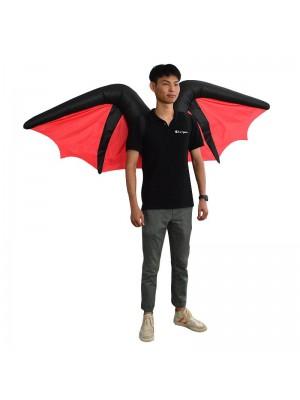 Chauve souris Diable Démon Gonflable Costume Halloween Noël Costume pour Adulte