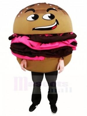 Délicieux hamburger Costume de mascotte