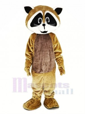 bronzer Robbie Raton laveur Mascotte Costume Animal