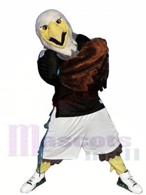 Aigle féroce sportif Costume de mascotte