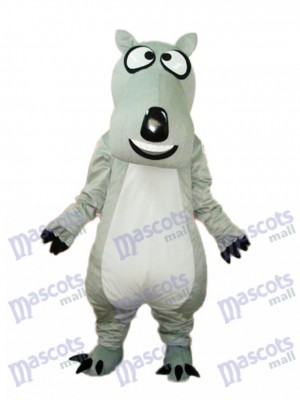 Déguisement de mascotte d'ours gris Mascotte Costume Animal