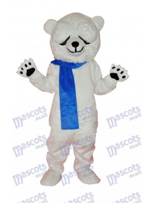 Costume de mascotte adulte mignon ours polaire Animal