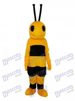 Costume de mascotte noire et jaune pour mascotte adulte