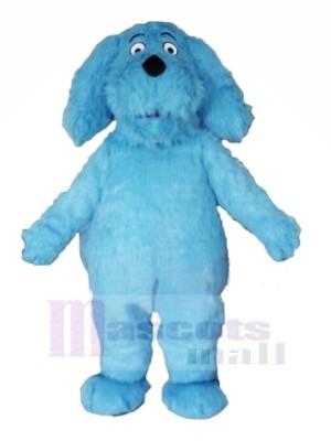 Bleu Velu Chien Mascotte Les costumes Animal