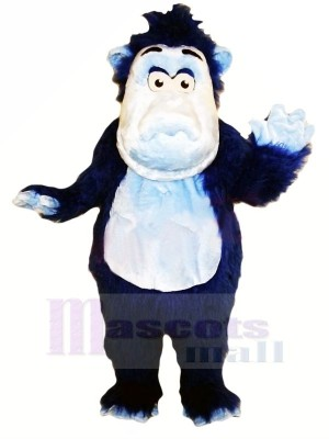 Fort Bleu Gorille Mascotte Les costumes Animal