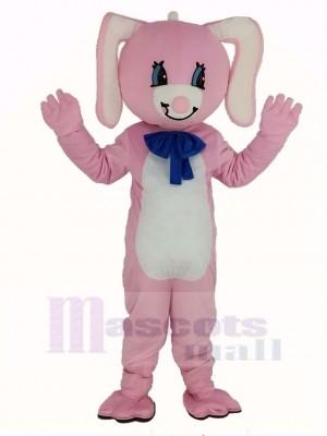 Pâques Rose lapin Mascotte Costume Animal