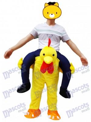 Carry Me  Pochette de poulet jaune avec poussin et mascotte
