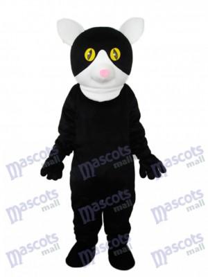Petit Costume Adulte Mascotte de Chat Noir