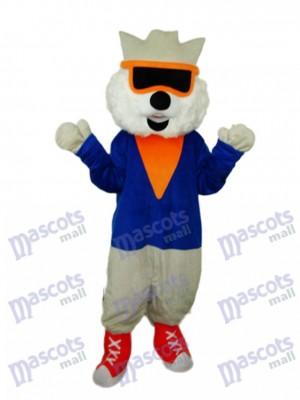 Costume de chat mascotte adulte Costume animal