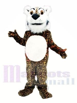 Bande dessinée Léopard Mascotte Les costumes Animal