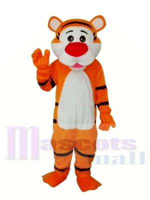 Bon tigre adulte Costume de mascotte Livraison gratuite