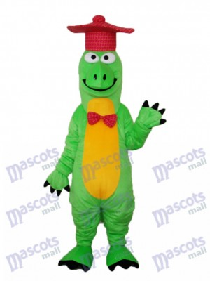 Gentilhomme Dinosaur Mascotte Costume adulte Animal