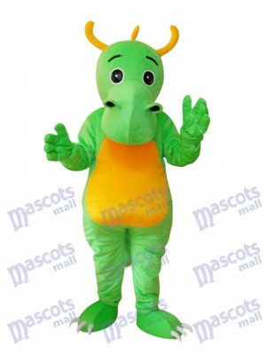 Big Nez Cornu Dinosaur Mascotte Costume adulte Animal