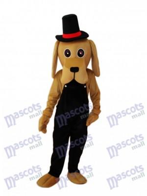 Mascotte de chien Shar Pei Costume adulte