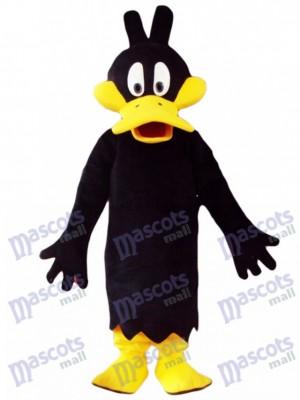 Costume de mascotte Daffy Duck noir Cartoon Anime