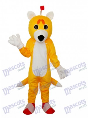 Déguisement de renard double queue adulte Costume Animal