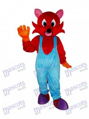 Costume de mascotte de renard roux Animal