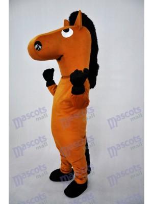 Costume de mascotte en peluche pour chien brun Animal