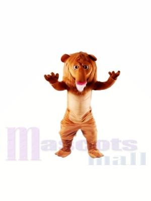 Mignonne Wally Lion Mascotte Les costumes Animal
