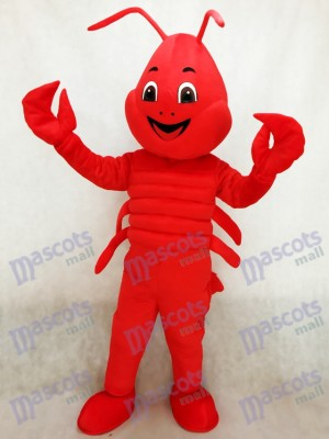 rouge Homard Costume de mascotte Mer