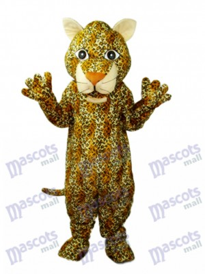 Mascotte de Léopard Jeune Costume Adulte Animal
