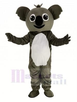 Petit gris Koala Mascotte Costume Dessin animé