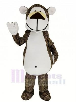 Joufflu Léopard Mascotte Costume Animal
