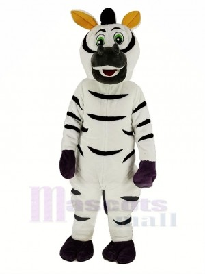 Drôle Zèbre Mascotte Costume Animal