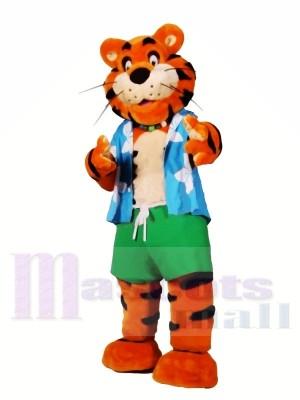 Tigre léger sport Costumes De Mascotte