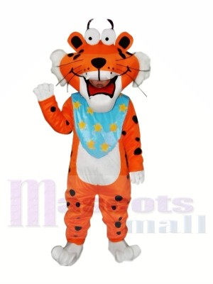 Tigre drôle repéré Costume de mascotte adulte Livraison gratuite