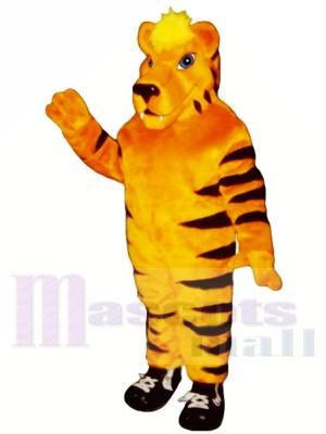 Tiger en baskets léger Costumes De Mascotte