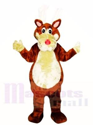 Chien brun Mascot Costumes Adulte