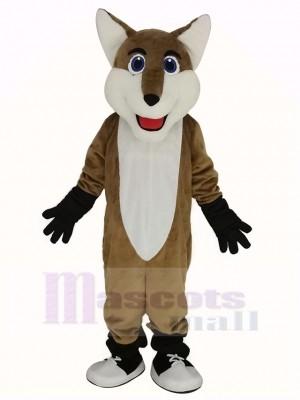 Souriant Renard Mascotte Costume