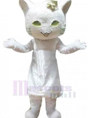 Chat costume de mascotte