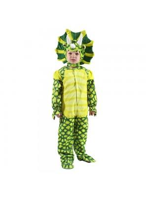 Nouveau Triceratops Dinosaure Costume Dinosaure Combinaison Halloween Noël Robe en haut Cadeau pour Enfant
