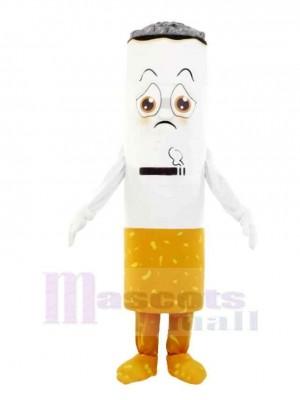 Mignonne Cigarette Mascotte Costume Dessin animé