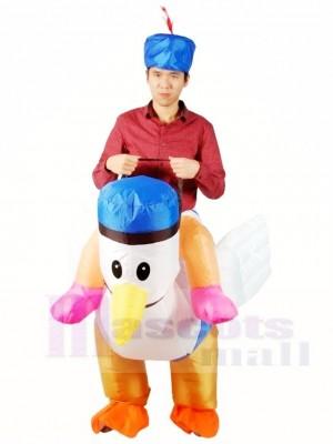 Balade sur Mer Mouette Coq poulet Coq Gonflable Halloween Noël Les costumes pour Adultes