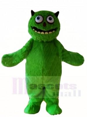vert Poilu Extraterrestre Monstre Mascotte Les costumes