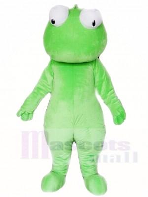 Sauvage vert Cabrite Lézard Mascotte Les costumes Animal