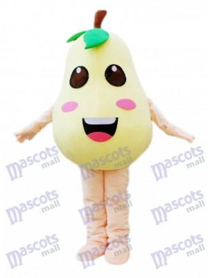 Costume de mascotte de poire