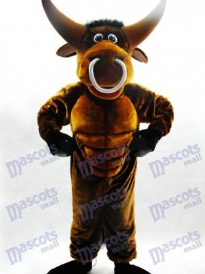 Taureau Costume drôle de mascotte