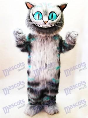 Chat de Cheshire d'Alice au pays des merveilles Costume de mascotte Cartoon Anime