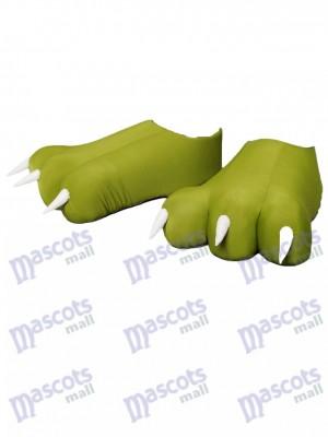 Pieds / couvre-pieds / griffes supplémentaires pour le costume de mascotte