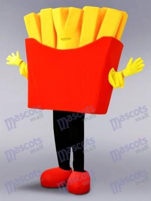 français frites Costume de mascotte Aliments